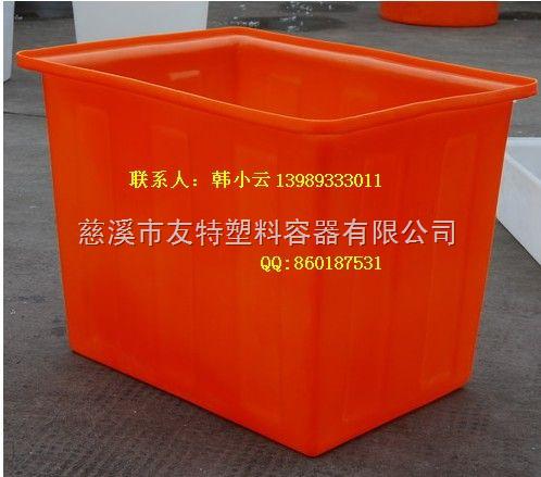 k-纺织塑料桶 方桶台车